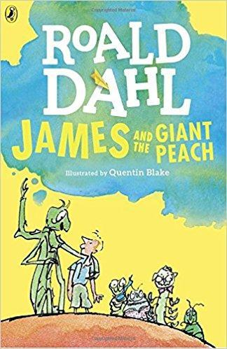 'James and the Giant Peach' by Roald Dahl