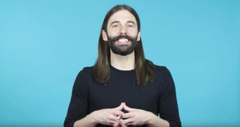 Jonathan Van Ness, peluquero estadounidense, podcaster y personalidad televisiva.