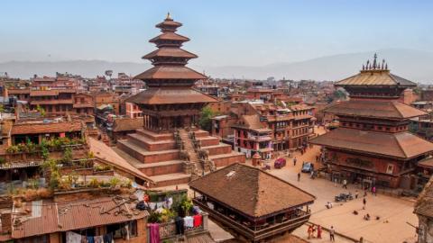 Kathmandu, la capital de Nepal