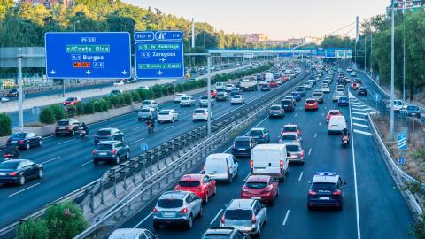 Contaminación autopista