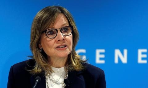 Mary Barra, CEO de General Motors.