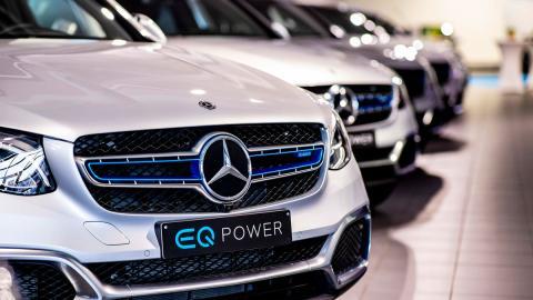 Mercedes GLC F-CELL entregas
