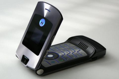 Motorola V3, el móvil más 'cool' de 2004