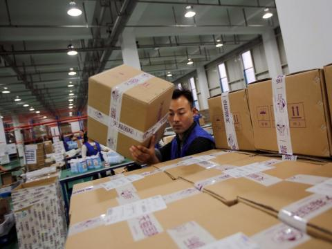 Much of those sales are through Alibaba, which raked in $14 billion USD from 2015 Singles' Day sales alone.