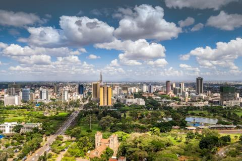 Nairobi, Kenia.