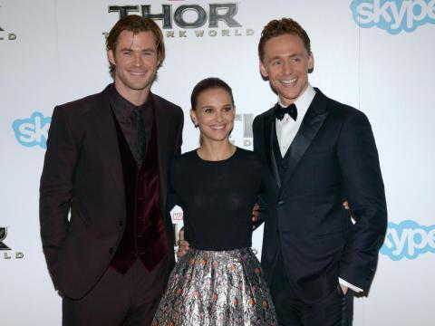 Apareció en las 2 primeras películas de 'Thor'.