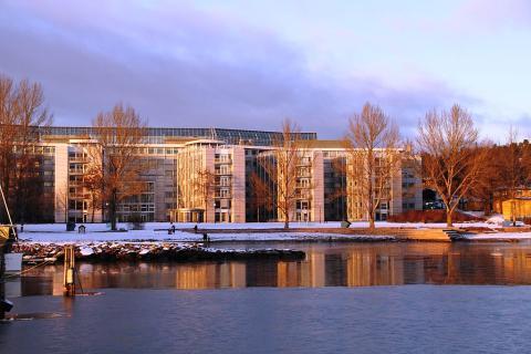 Oficinas centrales de Gjensidige Forsikring en Oslo (Noruega)