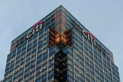 Oficinas de Citigroup en Londres (Reino Unido)