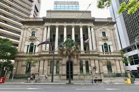 Oficinas del National Australia Bank en Brisbane