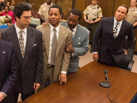 """O.J. Simpson's alleged double homicide is the focus of the first season of """"American Crime Story."""""""