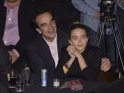 Olivier Sarkosy y Mary-Kate Olsen en 2013.
