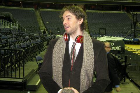 Pau Gasol en 2010