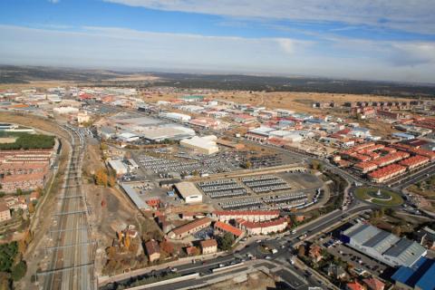 La planta de Nissan en Ávila