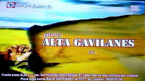 Este era el típico anuncio que aparecía en la TV para que te descargaras un politono... pagando, eso sí