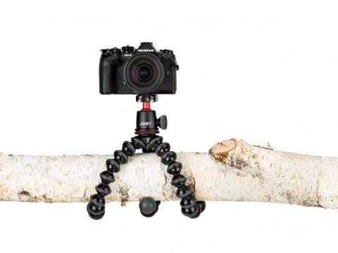 A portable, flexible, powerful tripod