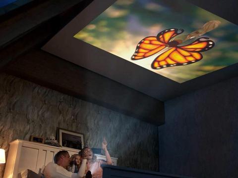 Un proyector portátil que convierte cualquier lugar en un mini-cine [RE]