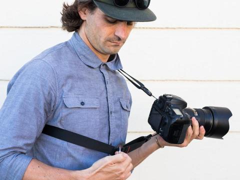 A reinvented camera strap