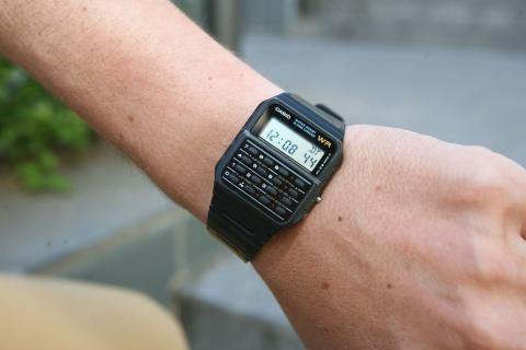 Así era el reloj Calculadora Casio