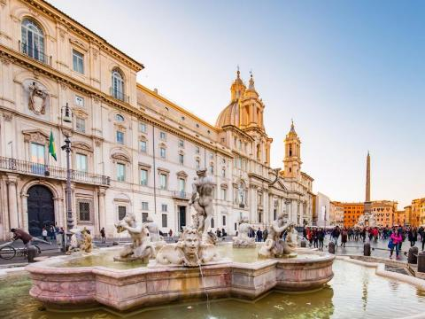 Rome is filled with history and romantic activities.