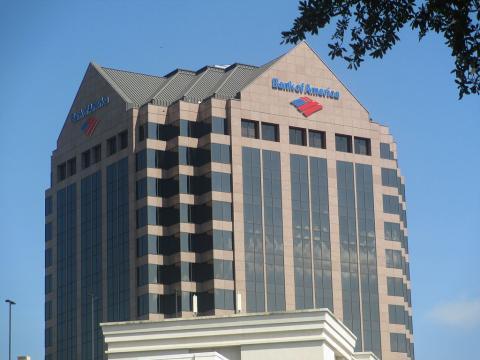 Sede de Bank of America en Columbia (EE.UU.)