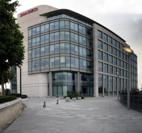 Sede central de Diageo en Londres (Reino Unido)
