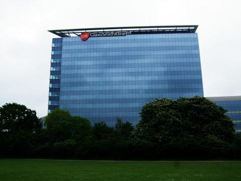Sede de GlaxoSmithKline en Londres (Reino Unido)