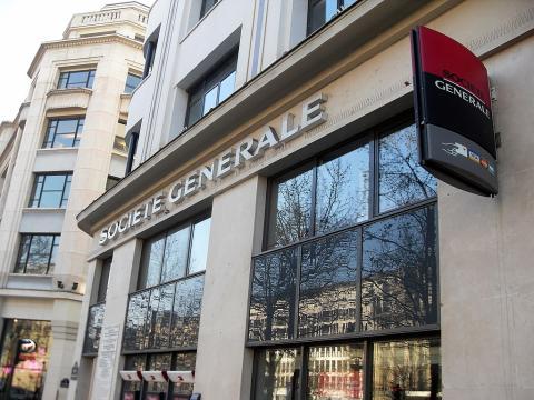 Sede de Société Générale en París (Francia)