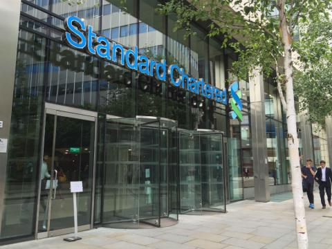 Sede de Standard Chartered en Londres (Reino Unido)
