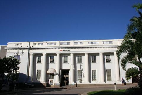 Sede de Westpac Bank en Townsville (Australia)