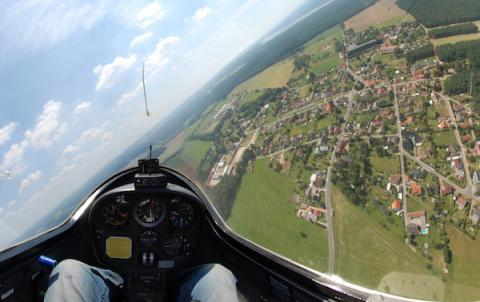 Sobrevolando Inglaterra