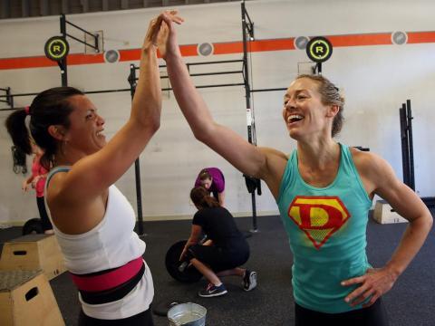 Algunos creen que sus clases de CrossFit son un dinero bien gastado