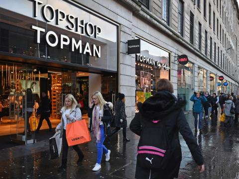 Stores like English chains House of Fraser and Topshop, as well as Amazon online, are offering Black Friday deals for things like clothing and electronics in 2018.