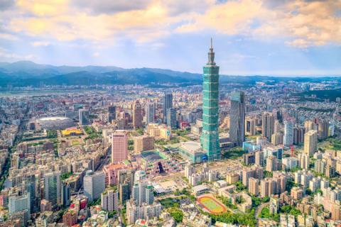 Taipei, la capital de Taiwán