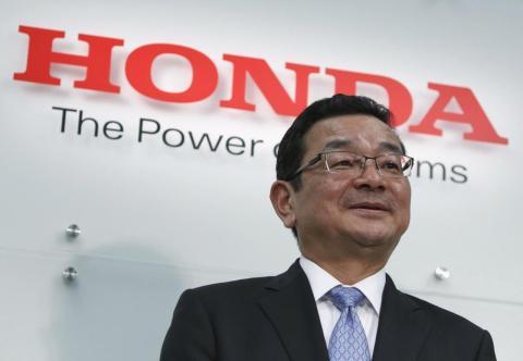 Takahiro Hachigo, CEO de Honda
