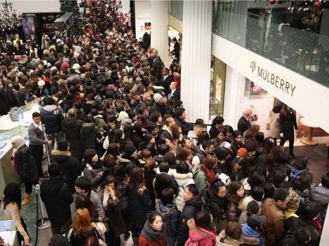 ... though cramming yourself into throngs of mall-goers still seems like a lot of work.
