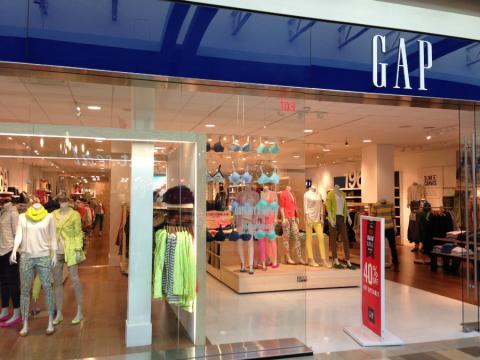 Tienda de Gap en el centro comercial North East Mall de Dallas (EE.UU.)