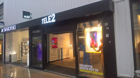 Tienda de Tele2 en Groningen (Países Bajos)