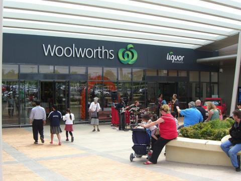 Tienda de Woolworths en Chadstone (Australia)