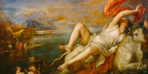 Titian's Europa: The economy was bullish for a while, but not right now.