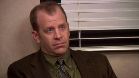Toby Flenderson, de la serie The Office.