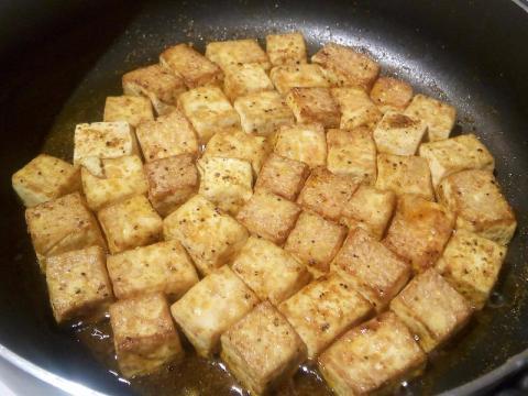 Tofu is a versatile food.