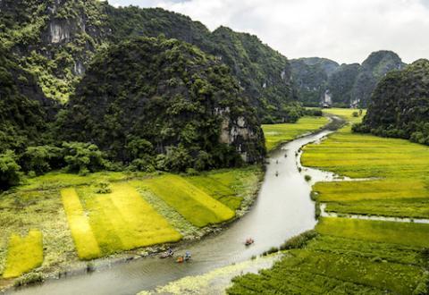 Valle Tam Coc, Vietnam