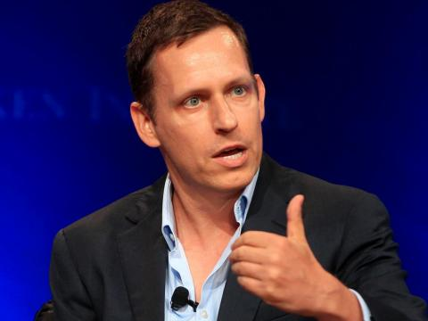 "Venture capitalist Peter Thiel said he thinks best ""somewhere beautiful in nature."""