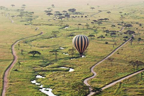 Viaja en globo por Tanzania