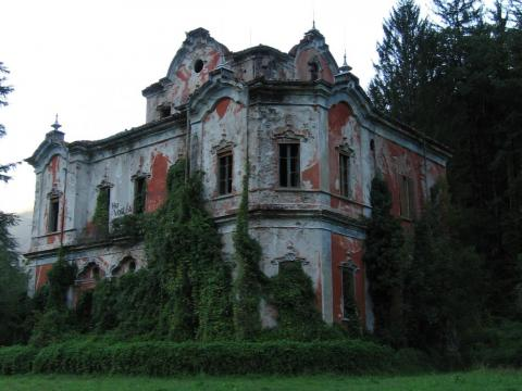 "The Villa de Vecchi, known as the ""Ghost Mansion"" of Italy, was built between 1854 and 1857, meant to be the summer home of a Count named Felix De Vecchi, who was head of the Italian National Guard. The home had all the modern"