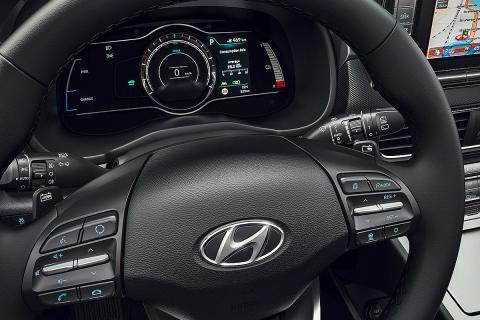 Al volante del Hyundai Kona Elektro