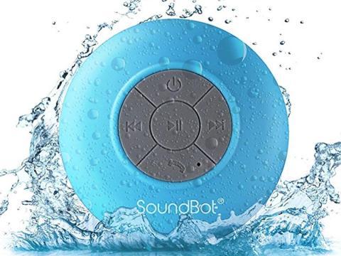Un altavoz a prueba de agua que permite rockear en la ducha [RE]