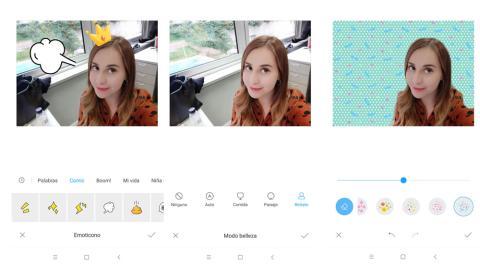Edición de fotos en el Xiaomi Mi 8 Pro