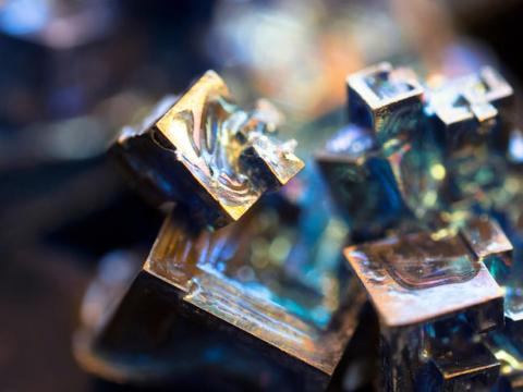 You probably didn't know bismuth looked like this.