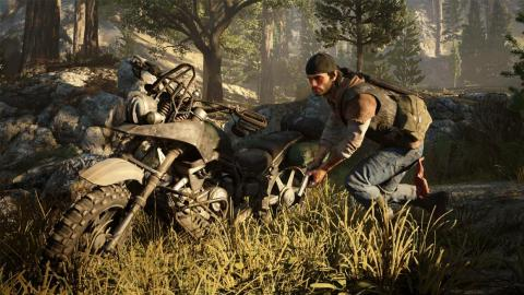 """2. The last few major exclusive games for the PlayStation 4, starting with """"Days Gone."""""""